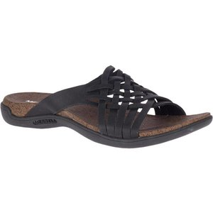 Merrell W DISTRICT MAHANA SLIDE BLACK