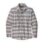 Patagonia M's L/S Sun Stretch Shirt Tarkine Stripe: Dolomite Blue