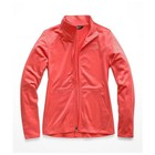 The North Face W TECH MEZZALUNA FULL ZIP Spiced Coral