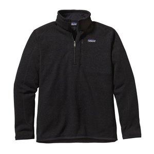 Patagonia M's Better Sweater 1/4 Zip Black
