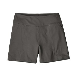 Patagonia W's Happy Hike Shorts - 4 in. Forge Grey