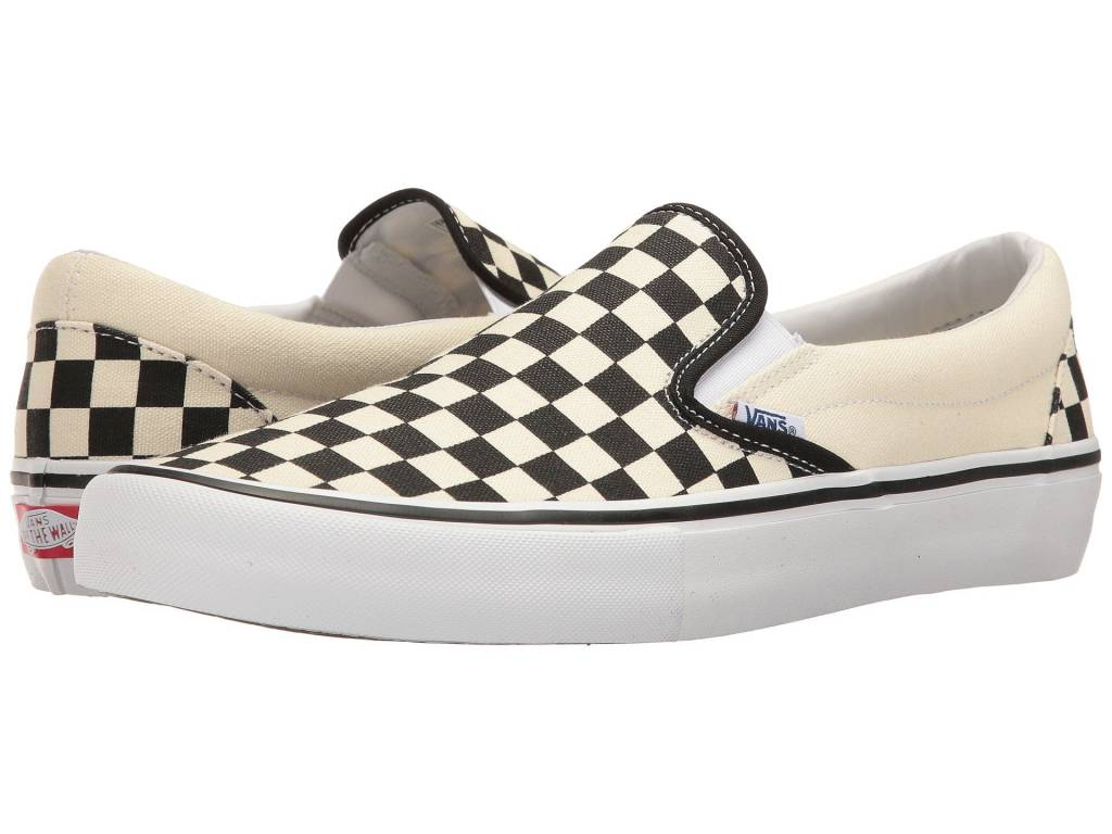 ab81ff516ded30 M SLIP-ON PRO (APK) (CHECKERBOARD) BLACK WHITE Mens - Vital Outdoors