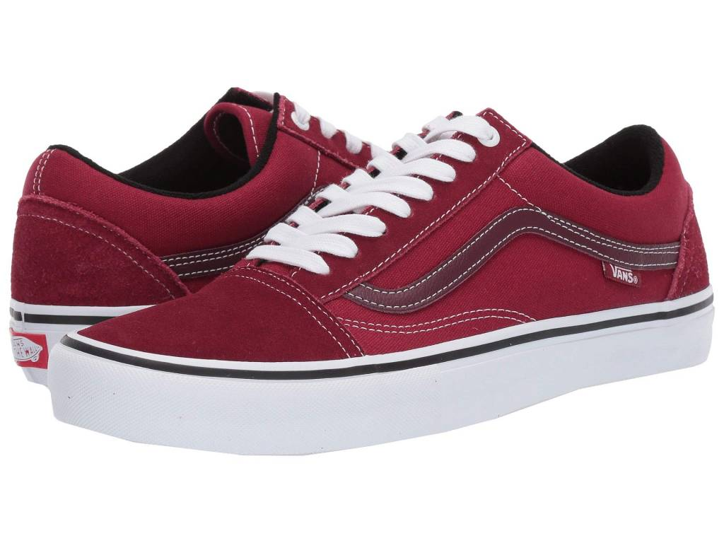 d9a3b46b60 M OLD SKOOL PRO (VG4) RUMBA RED TRUE WHITE Mens - Vital Outdoors