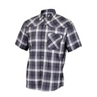 Club Ride New West Men's Short Sleeve Snap Down Top Black