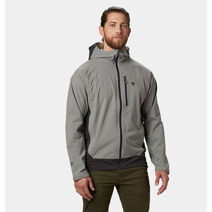 Mountain Hardwear Stretch Ozonic Jacket Manta Grey Men's