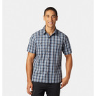 Mountain Hardwear Little Cottonwood Short Sleeve Shirt Dark Zinc Men's