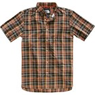 The North Face Men's S/S Monanock Shirt NF0A3BDU 9RE-Weathered Black Brutus Plaid