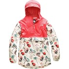 The North Face Women's Printed Fanorak NF0A3SX3 AT3-Spiced Coral/Vintage White Joshua Tree Print