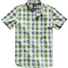 The North Face Men's S/S Hammetts Shirt NF0A3BDZ 9RQ-Garden Green Ash Plaid