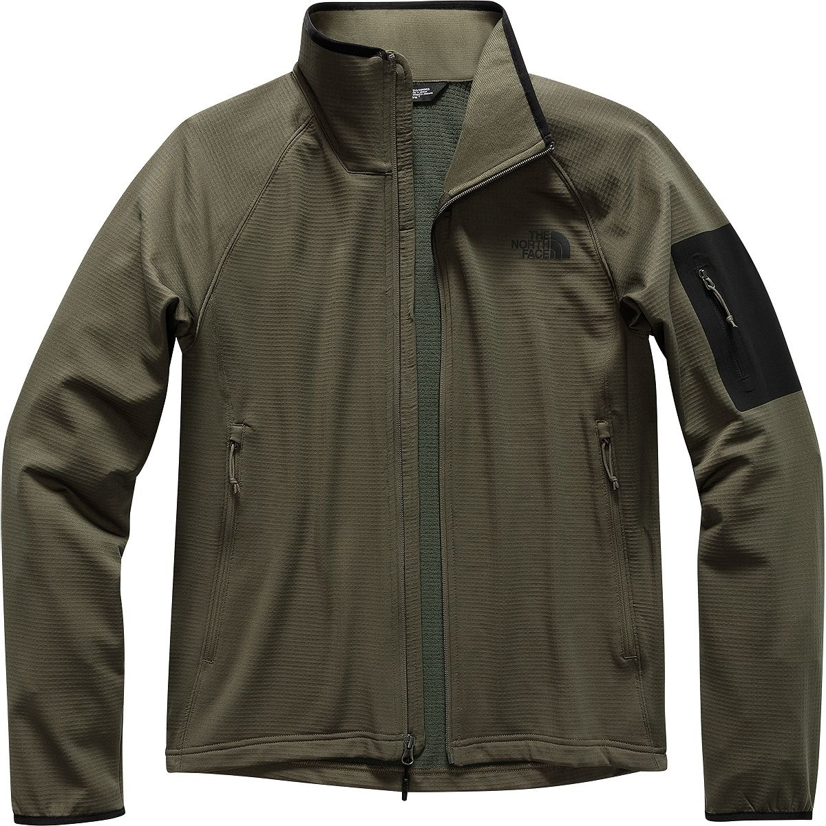 6fd1e47c8 Men's Borod Full Zip NF0A2VE1 BQW-New Taupe Green/TNF Black
