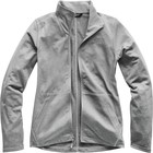 The North Face Women's Tech Mezzaluna Full Zip NF0A3OCI DYY-TNF Medium Grey Heather