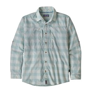 Patagonia M's L/S Sun Stretch Shirt Haven: Atoll Blue