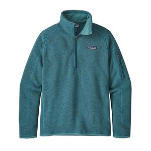 Patagonia W's Better Sweater 1/4 Zip Tasmanian Teal
