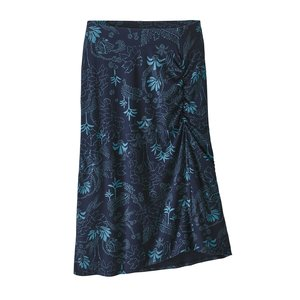 Patagonia W's Dream Song Skirt Beyond Extinction Big: New Navy