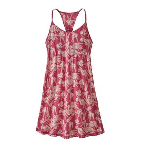 Patagonia W's Edisto Dress Las Flores: Reef Pink