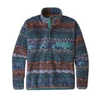 Patagonia M's LW Synch Snap-T P/O Tradewinds Big: Stone Blue