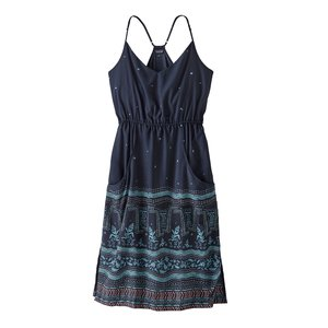 Patagonia W's Lost Wildflower Dress Forest Song: New Navy