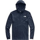 The North Face Men's Tri-Blend Henley Hoodie NF0A3MAZ 6NL-Urban Navy Heather/TNF White