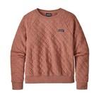 Patagonia W's Organic Cotton Quilt Crew Century Pink