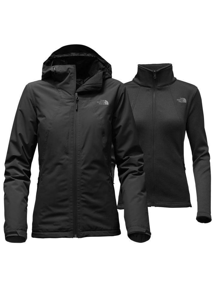 cc514f5016 The North Face WOMEN S HIGHANDDRY TRICLIMATE JACKET TNF Black - Vital  Outdoors