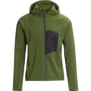 Mountain Hardwear Keele Hoody Dark Army Men's