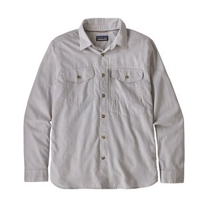 Patagonia M's L/S Cayo Largo II Shirt Chambray: Feather Grey
