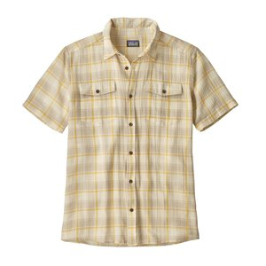 Patagonia M's Steersman Shirt Protester Plaid: Surfboard Yellow