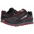 Altra MENS LONE PEAK 4 BLACK/RED
