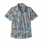 Patagonia M's Go To Shirt Parrots: Ghost Purple