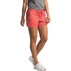 The North Face Women's Ridgeside Pull-On Short NF0A3T1A HEY-Spiced Coral