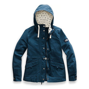 The North Face Women's Ridgeside Utility Jacket NF0A3SV9 N4L-Blue Wing Teal