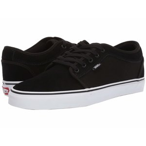 Vans M CHUKKA LOW (AD3) (SUEDE) BLACK/TRUE WHITE Mens