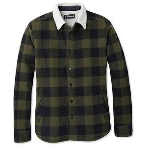 SmartWool Men's Anchor Line Sherpa Shirt Jacket Olive
