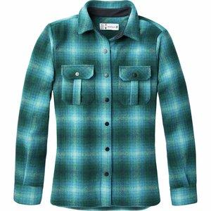 SmartWool Women's Anchor Line Shirt Jacket Everglade