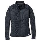 SmartWool Women's Smartloft 60 Jacket Black-Charcoal
