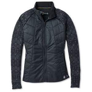SmartWool Women's Smartloft 60 Jacket Black-Charcoal