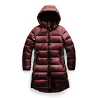 The North Face Women's Metropolis Parka III NF0A3XE3 HBM-Deep Garnet Red