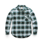 The North Face Women's L/S Boyfriend Shirt NF0A3YTX HE2-Ponderosa Green Berkeley Twill Plaid