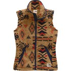The North Face Women's Campshire Vest 2.0 NF0A48LO FR9-Cedar Brown California Geo Print