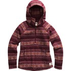The North Face Women's Printed Crescent Hooded Pullover NF0A48LK JBB-Deep Garnet Red Fair Isle Print