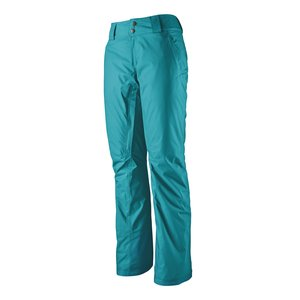 Patagonia W's Insulated Snowbelle Pants - Reg Curacao Blue