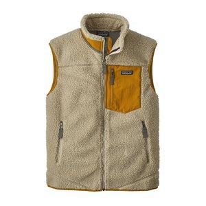 Patagonia M's Classic Retro-X Vest Pelican w/Wren Gold