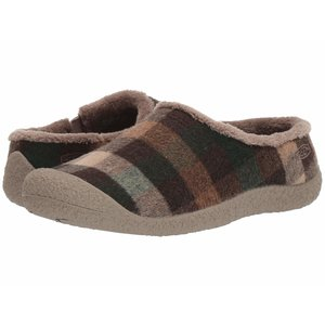 Keen HOWSER SLIDE W-BROWN PLAID/BRINDLE