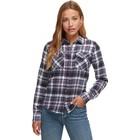 Marmot Wm's Bridget Midwt Flannel LS SLATE GREY