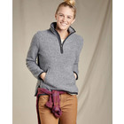Toad&Co W'S Telluride Sherpa Pullover Grey Heather
