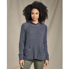 Toad&Co W's Clementine Mockneck Sweater Charcoal Heather