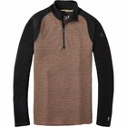 SmartWool Men's Merino 250 Baselayer Pattern 1/4 Zip Bourbon