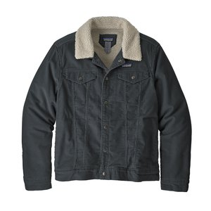 Patagonia M's Pile Lined Trucker Jkt Forge Grey