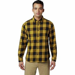 Mountain Hardwear M's Catalyst Edge Long Sleeve Shirt DARK BOLT
