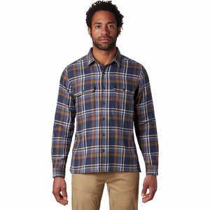 Mountain Hardwear M's Woolchester Long Sleeve Shirt ZINC